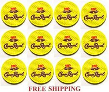 CROWN ROYAL SALTED CARAMEL CANADIAN WHISKY  12  BAR TOP SPILL MAT COASTERS NEW