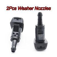 2PCS Front Windscreen Wiper Washer Nozzle Jet Fit For Hyundai ix35 ix25