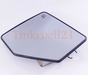 06-10 Ford Explorer Mercury Mountaineer Left Driver Power Heated Mirror Glass