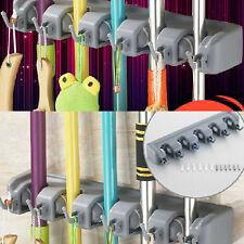Best  Brush Broom Mop Holder Storage WC Tidy Organiser Hanger Cupboards Tool