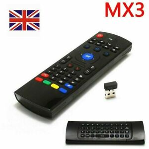 MX3 Wireless 2.4G Remote Control Keyboard Air Mouse for MXQ Android XBMC TV Box