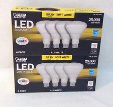 (8) Feit Electric 65 Watt Replacement Led Light Bulb Dimmable Br30 Flood Light