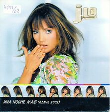 "JENNIFER LOPEZ ""UNA NOCHE MAS (REMIX 2002)"" SPANISH PROMO CD / J.LO - JA RULE"