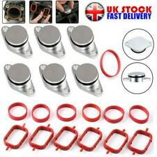 6X 22 mm Swirl Flap Blanks Repair Kit Manifold with Gaskets for BMW 320d 330d