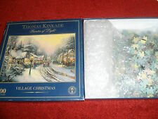 COLLEZIONE Thomas Kinkade-PITTORE DI LUCE - 1000 Pezzo-Villaggio di Natale