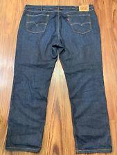 Levis Mens Pants 541 W42 L32 Dark Wash Cotton