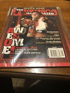 *RARE* PRO WRESTLING ILLUSTRATED PWI MAY 2006 SAMOA JOE Double Issue