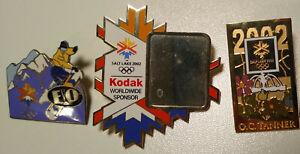 2002 Salt Lake Winter Olypmics 6 Pin Lot