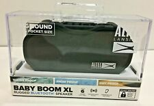 Altec Lansing  Baby Boom XL Rugged Bluetooth Speaker IMW270-BLK-WM New