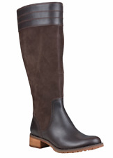 NIB Timberland Women Bethel Heights Tall Riding Boots Leather & Suede $240 Sz 7
