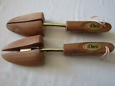 Orvis Cedar Wood Shoe Keepers Stretchers Size Medium 2/Left Feet