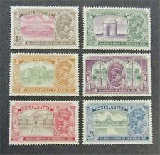 nystamps British India Stamp # 129-134 Mint OG H $33