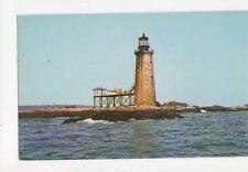 Ram Island Lighthouse Portland Maine Old Postcard USA 403a ^