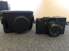 Fujifilm Fuji X10 Digital Camera + Leather Case +Filter( No Charger)