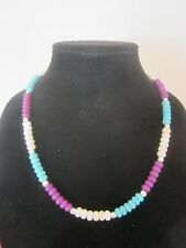 Necklace and Earrings Three Color Natural Turquoise