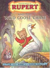 RUPERT BEAR ADVENTURE SERIES No.20 - RUPERT AND THE WILD GOOSE CHASE -