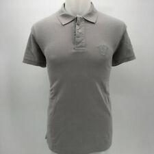Escales Grey Men's Short Sleeve Polo Top Size 3XL