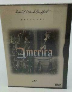 America DVD 1924 D.W Griffith Movie Neil Hamilton Carol Dempster WAR MOVIE RARE