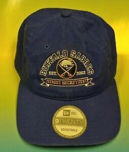 NEW Vintage Buffalo Sabres Street Hockey Fest New Era 9Twenty Hat Hockey NWT