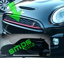Mini F55/56/57 Avant Grille Bande Rouge Cooper S JCW fin 2013 Onwards