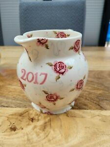 Emma Bridgewater 2017 Year 1.5 Pint Jug Tiny Scattered Rose - SAMPLE