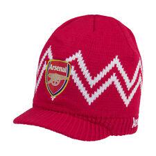 Arsenal Visor Beanie Cap Hat  By Rhinox
