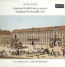 Haydn - Symphonien Nr.100 & 83 / Karl Münchinger & Wiener Philharmoniker LP