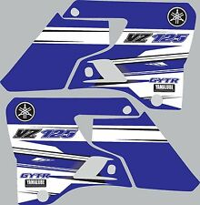Graphics for 1996-2001 Yamaha YZ125 YZ 125 shrouds Decal Stickers