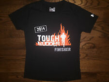 Large Women's Under Armour Semi-Fitted 2014 Tough Mudder Finisher Black T-Shirt