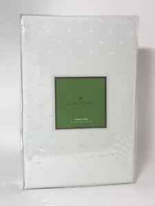 "*NEW* Kate Spade Larabee Dot Tablecloth - 70"" x 86"" - Fresh Cream"