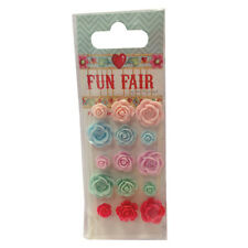 Pack Fun Fair by Helz Cuppleditch Resin Flowers great for cards and crafts