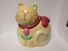 Vintage Susan Marie Treasure Craft Fat Cat Cookie Jar