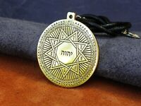 Tetragrammaton pendant, 72 Names of God, Kabbalah talisman, amulet, occult