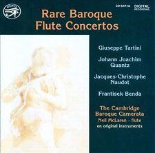 Rare Baroque Flute Concertos, New Music