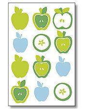 Wallies Self-Adhesive wallpaper cutouts Green Apples