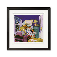 Calvin and Hobbes Monster Under the Bed Poster Print