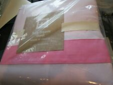 Pottery Barn Teen Suite full queen pink duvet cover  New