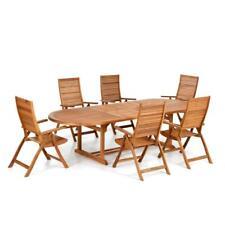 Tavolo in legno allungabile 200/245/290 in legno da esterno arredo giardino