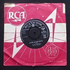 "ELVIS PRESLEY Crying In The Chapel / Man In The Sky RCA VICTOR UK Orig 7"" 45"