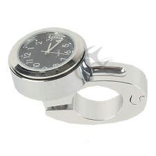 """7/8"""" 1"""" Handlebar Mount Dial Clock Watch for Kawasak Vulcan 1500 Cruiser Chopper"""