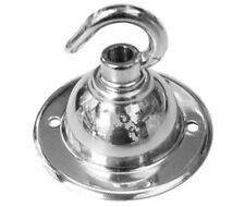 Ceiling Rose with Single Hook in Polished Chrome (400CHR)