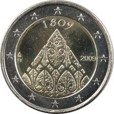 Pièces euro de la Finlande pour 2 euro année 2009