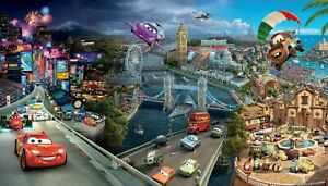 Disney Cars Canvas Wall Art Picture 20x30 inches ready to hang