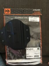 K ROUNDS KYDEX OWB Right Holster Fits Springfield XD 5'' ,9mm, 40 cal, 45 cal