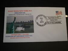 USS WASP LHD-1 Naval Cover 2012 Operation Sail Cachet