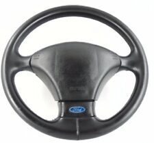 Ford Escort RS Cosworth leather steering wheel. Genuine OEM. Lux, airbag.  3D