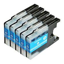 5x LC1240 XL cyan Brother für MFC-J825DW MFC-J835DW MFC-J6910DW