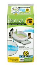 Purina Tidy Cats Breeze Spring Clean Cat Pads Refill Pack 10-Count NEW Sealed
