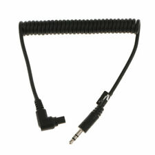 3.5mm to RS-80N3 C3 Shutter Release Cable Cord for Canon EOS 5D3 5D2 7D 50D