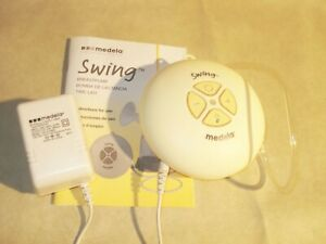 Medela-Swing Single Electric Breast Pump Portable Battery Operated Pump w/Cord